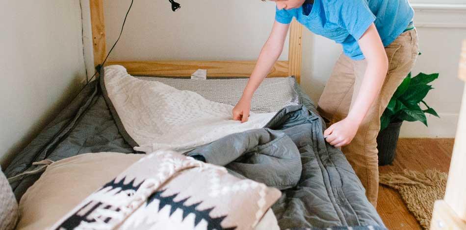 Si quieres cambiar al mundo empieza por tender tu cama